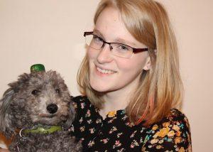 Anja and her dog